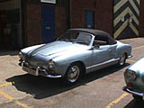 Karmann ghia convertible